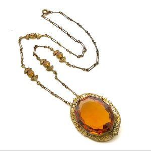 Antique Necklace Art Nouveau